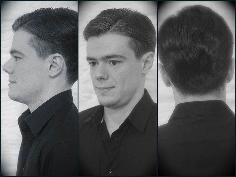 Alex corcuera corte barbería