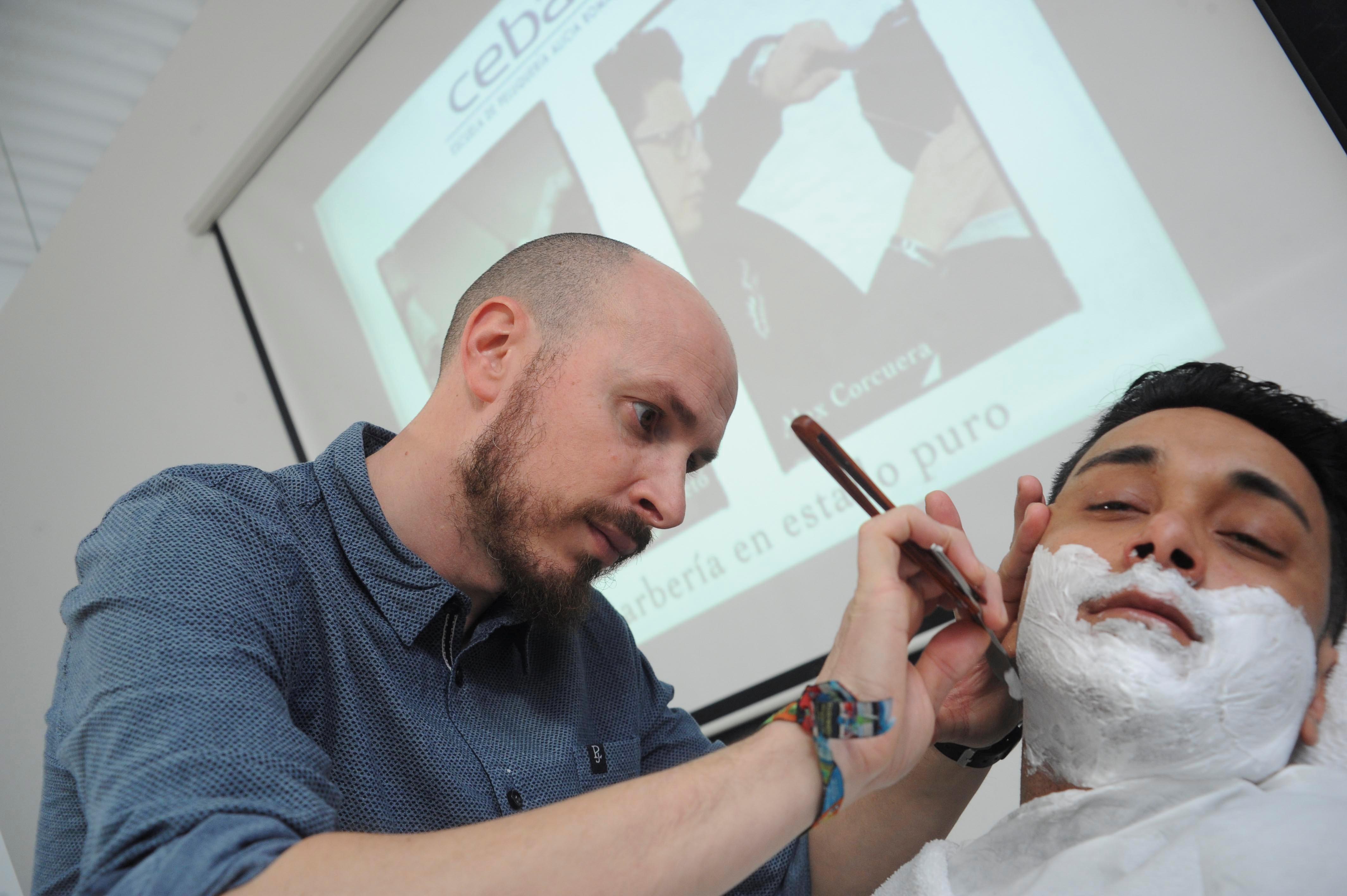 Afeitado Vicenç Moretó