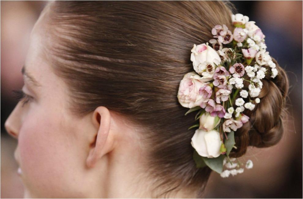 flores para el pelo novias 2015
