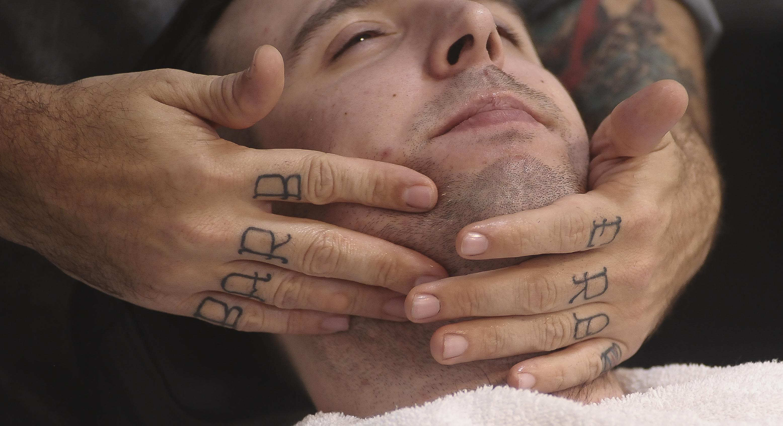 afeitado tradicional