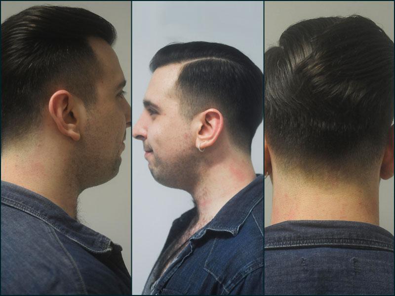 Cambio de imagen Álvaro The Barber