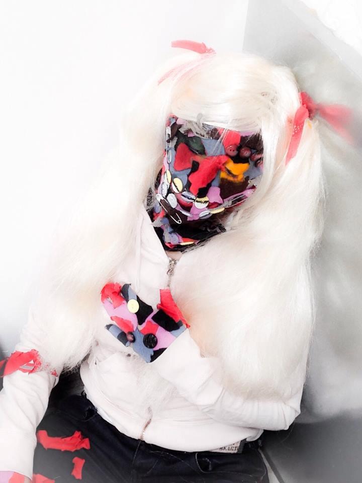 maquillaje muñeca de trapo